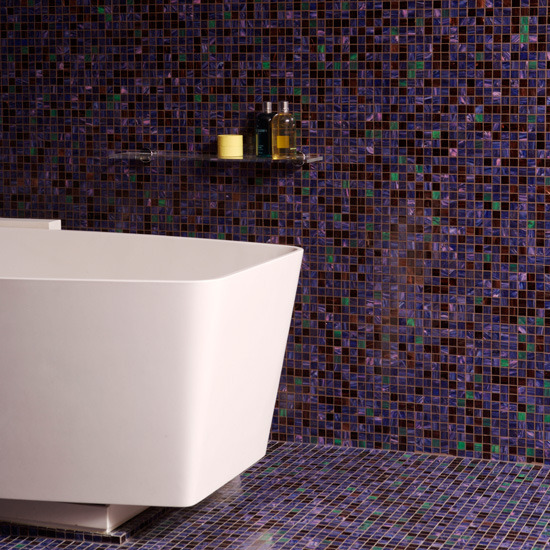 6-bathroom-tile-ideas-Floor-to-ceiling-purple-mosaic-bathroom-tiles