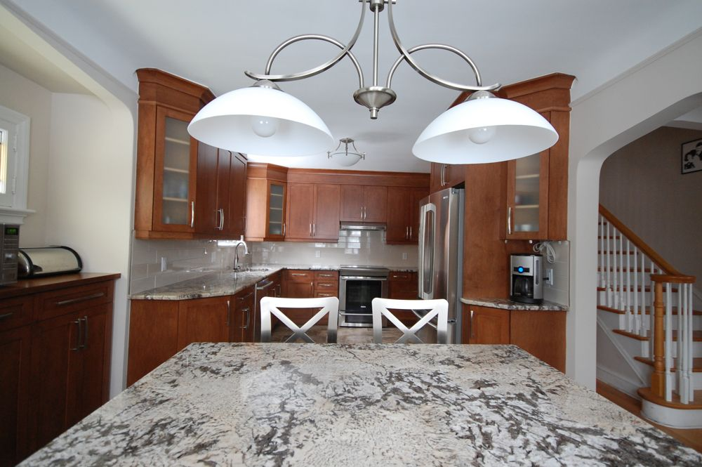 Open Concept Kitchen With Island