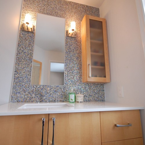 Mosaic Bathroom Vanity