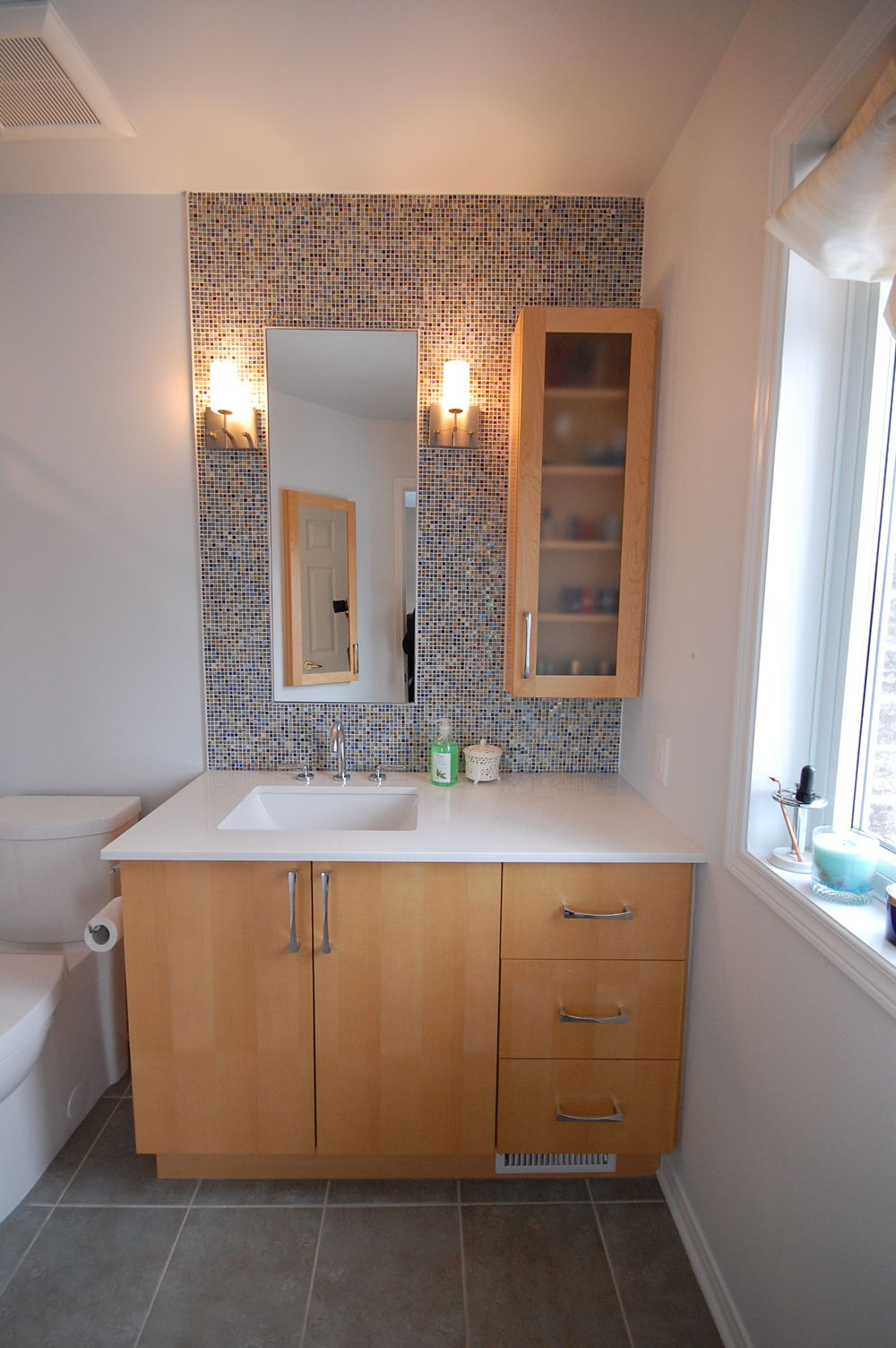 Mosaic tile kitchens and bathrooms first for First bathrooms