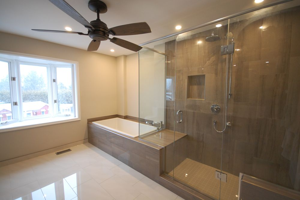 Beautiful open bathroom kitchens and bathrooms first for First bathrooms