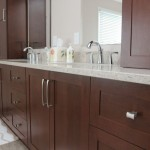 Beautiful wood cabinets