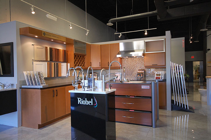 Kitchens & Baths Showroom Kitchen Display