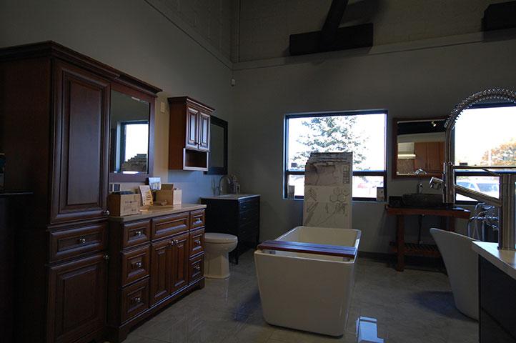 Kitchens & Baths Showroom Cabinets